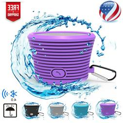 Waterproof Bluetooth Speaker Shower Wireless Resistant Porta