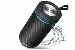 COMISO Waterproof Bluetooth Speakers Outdoor Wireless Portab