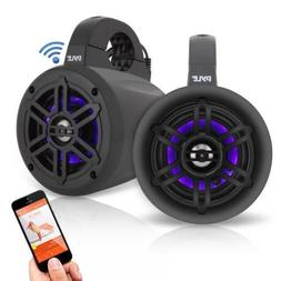 Pyle Waterproof Rated Bluetooth Marine Tower Wakeboard Subwo