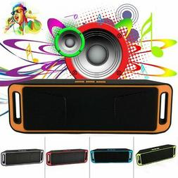Waterproof Portable Bluetooth Stereo Speaker Outdoor Wireles