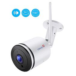 Ctronics Wifi Camera Outdoor,1080P Wireless IP Security Came