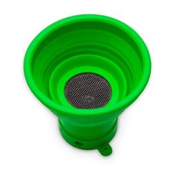 Wireless Bluetooth Fun-Shape Portable Green Speaker Horn out