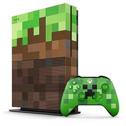 Xbox One S 1TB Limited Edition Console - Minecraft Bundle