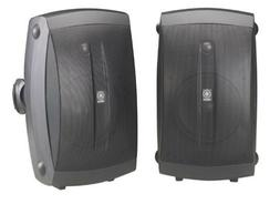 Yamaha NS-AW350B All-Weather Indoor/Outdoor 2-Way Speakers -